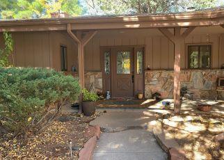 Pre Foreclosure in Sedona 86336 SADDLEROCK CIR - Property ID: 1477689835