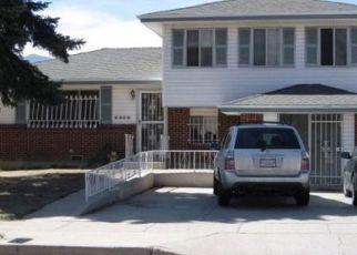 Pre Foreclosure in Colorado Springs 80910 CARMEL DR - Property ID: 1479718972
