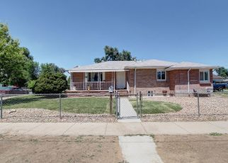 Pre Foreclosure in Brighton 80601 N 8TH AVE - Property ID: 1479892844
