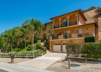 Pre Foreclosure in West Hills 91307 BELL CANYON RD - Property ID: 1480204228