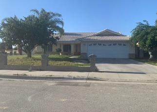 Pre Foreclosure in Wasco 93280 SUMMER HILL CT - Property ID: 1483456634