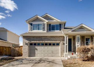 Pre Foreclosure in Aurora 80016 S ELK WAY - Property ID: 1484239729