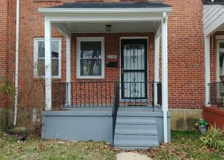 Pre Foreclosure in Baltimore 21239 STONEWOOD RD - Property ID: 1485243565