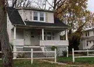 Pre Foreclosure in Gwynn Oak 21207 MARMON AVE - Property ID: 1487129478