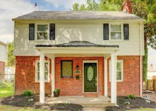 Pre Foreclosure in Baltimore 21218 LAKESIDE AVE - Property ID: 1487145686
