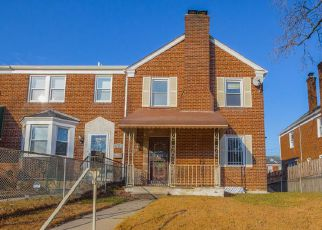 Pre Foreclosure in Baltimore 21218 SHEFFIELD RD - Property ID: 1487152244