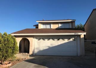 Pre Foreclosure in Palmdale 93550 E AVENUE R7 - Property ID: 1487872729