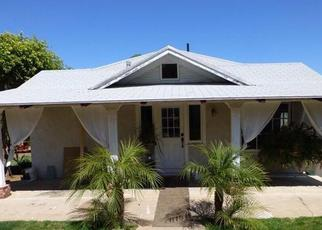 Pre Foreclosure in Vista 92083 ANNS WAY - Property ID: 1488127627