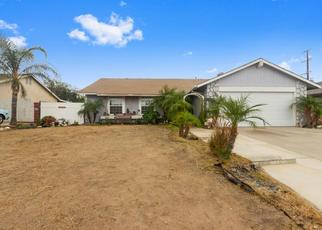 Pre Foreclosure in Moreno Valley 92553 MORNING GLORY ST - Property ID: 1488591887