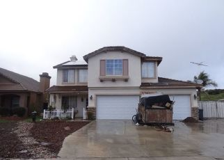 Pre Foreclosure in Lake Elsinore 92530 MAPLEWOOD CT - Property ID: 1488599317