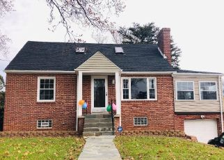 Pre Foreclosure in Gwynn Oak 21207 SUNSET AVE - Property ID: 1490332828