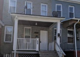 Pre Foreclosure in Baltimore 21229 SIEGWART LN - Property ID: 1490370489