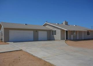 Pre Foreclosure in Apple Valley 92307 OTOE RD - Property ID: 1492972493