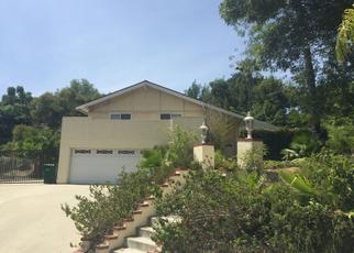 Pre Foreclosure in Diamond Bar 91765 N DEL SOL LN - Property ID: 1492990446