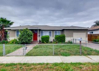 Pre Foreclosure in Escondido 92027 FERN ST - Property ID: 1493020674