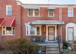 Pre Foreclosure in Baltimore 21218 NORTHWICK RD - Property ID: 1493465655