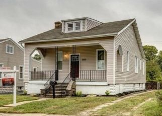 Pre Foreclosure in Baltimore 21214 CHRISTOPHER AVE - Property ID: 1493535280