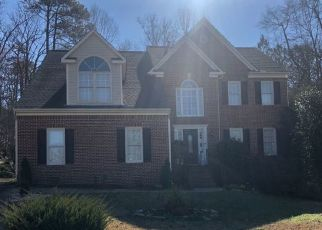 Pre Foreclosure in Apex 27502 WICKSTEED CT - Property ID: 1494943818