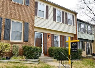 Pre Foreclosure in Sterling 20164 SALISBURY CT - Property ID: 1495032273