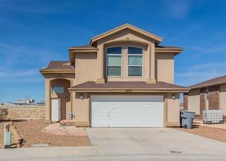 Pre Foreclosure in El Paso 79938 FRANCISCO PAZ DR - Property ID: 1495757117