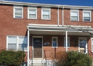 Pre Foreclosure in Baltimore 21215 BLANCHE RD - Property ID: 1496502110