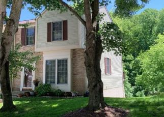 Pre Foreclosure in Ellicott City 21043 OAK WEST DR - Property ID: 1496675114