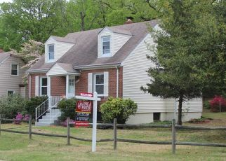 Pre Foreclosure in District Heights 20747 RAMBLEWOOD DR - Property ID: 1496962432
