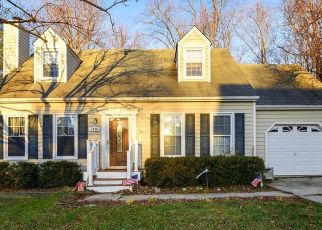 Pre Foreclosure in Annapolis 21403 REGENT ST - Property ID: 1497637797