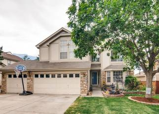 Pre Foreclosure in Castle Rock 80109 N SUNGOLD LN - Property ID: 1501591831