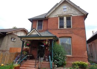 Pre Foreclosure in Denver 80205 N GILPIN ST - Property ID: 1501611979