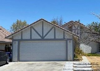 Pre Foreclosure in Palmdale 93552 WESTGATE DR - Property ID: 1502000895