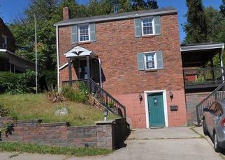 Pre Foreclosure in Mckeesport 15133 GUMBERT ST - Property ID: 1503741389