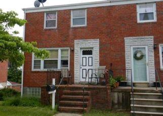 Pre Foreclosure in Halethorpe 21227 GLORIA AVE - Property ID: 1504148717