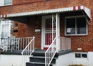 Pre Foreclosure in Baltimore 21215 CREST HEIGHTS RD - Property ID: 1504626993
