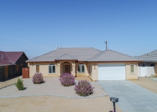 Pre Foreclosure in California City 93505 EVELYN AVE - Property ID: 1505016783