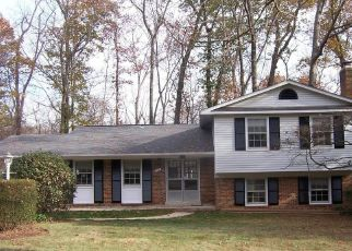 Pre Foreclosure in Fairfax 22031 AMBERLEY LN - Property ID: 1505471389