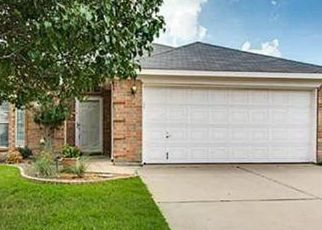 Pre Foreclosure in Fort Worth 76132 COLDWATER CANYON RD - Property ID: 1505885719