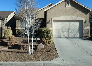 Pre Foreclosure in Prescott Valley 86314 N WYCLIFFE DR - Property ID: 1508654587