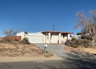 Pre Foreclosure in California City 93505 REA AVE - Property ID: 1509568189
