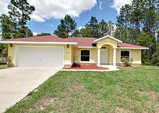 Pre Foreclosure in Ocala 34473 SW 133RD LANE RD - Property ID: 1509976843