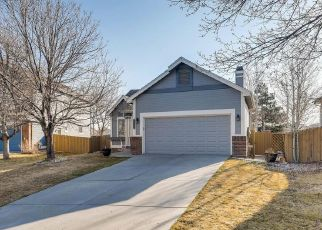Pre Foreclosure in Parker 80134 HAXTUN CT - Property ID: 1511071323