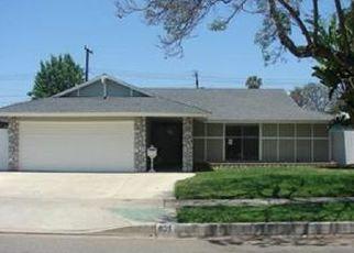 Pre Foreclosure in Orange 92866 E VAN BIBBER AVE - Property ID: 1511335425