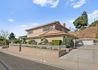 Pre Foreclosure in Monterey Park 91754 BLUFFHILL DR - Property ID: 1511553990