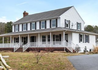 Pre Foreclosure in Easton 21601 HIGH BANKS DR - Property ID: 1514992509