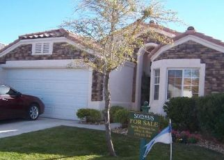 Pre Foreclosure in Henderson 89052 DANCING HILLS AVE - Property ID: 1515068270