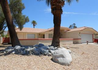 Pre Foreclosure in Desert Hot Springs 92240 SPYGLASS AVE - Property ID: 1515198802