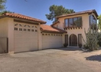 Pre Foreclosure in Paradise Valley 85253 N QUAIL RUN RD - Property ID: 1517112295