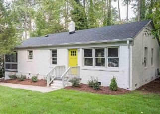 Pre Foreclosure in Raleigh 27610 DERBY DR - Property ID: 1518069716