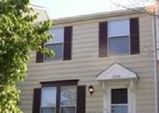 Pre Foreclosure in Bowie 20716 NOVEMBER CT - Property ID: 1519958252