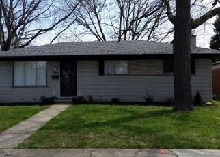 Pre Foreclosure in Warren 48088 FLANDERS AVE - Property ID: 1522567710